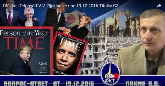 Otázka – Odpověď V.V. Pjakina ze dne 19.12.2016 Titulky CZ