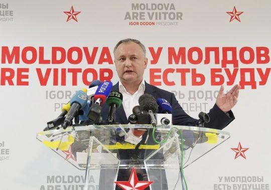 Nový moldavský prezident Dodon: Nepotrebujeme členstvo v NATO, ani v EÚ. Dohodu o asociácii treba zrušiť