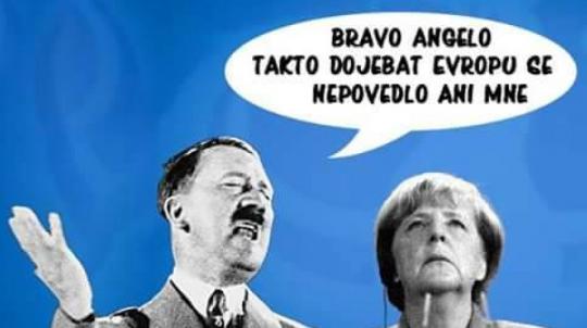 DWN: vysněný svět Angely Merkelové se zhroutil během okamžiku