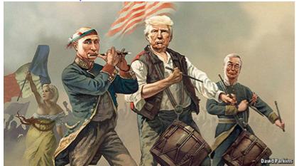 "Vladimir Putin ohromil: Proti Trumpovi se chystá ""majdan"" (VIDEO)"