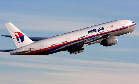 Kam zmizel Boeing 777 ?