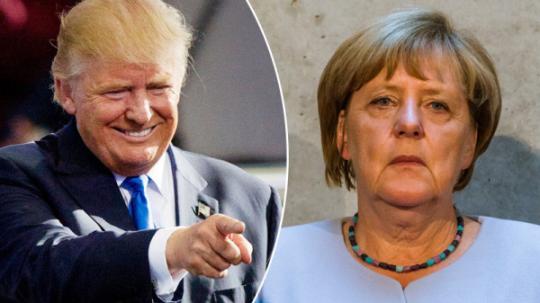 Trump rozhodl: zákaz vstupu německých občanů do Ameriky. Německo je nebezpečná země. Merkelová v šoku.