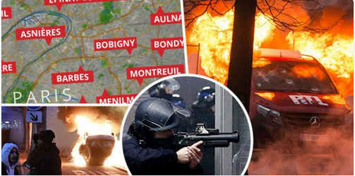 Francie ve 20 městech v občanské válce. Policisti dostali povolení střílet do agresivních černochů. Pokus o multikulti ve Francii právě skončil. Polovina francouzské armády v ulicích. Video