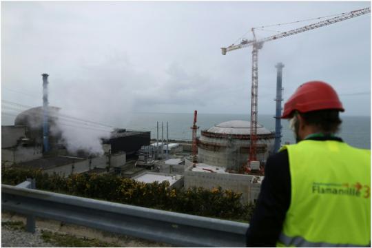 Exploze ve francouzské jaderné elektrárně