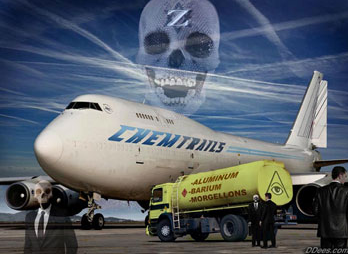 Údajně chemtrails neexistují. O chemtrails hovoří i piloti dopravních letadel