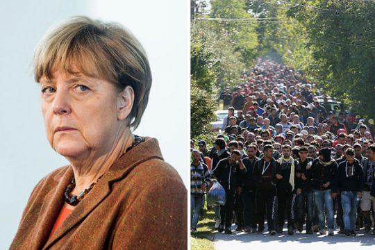 Angela Merkelová: Evropa musí přijmout VÍCE uprchlíků, Islám není zdrojem teroru