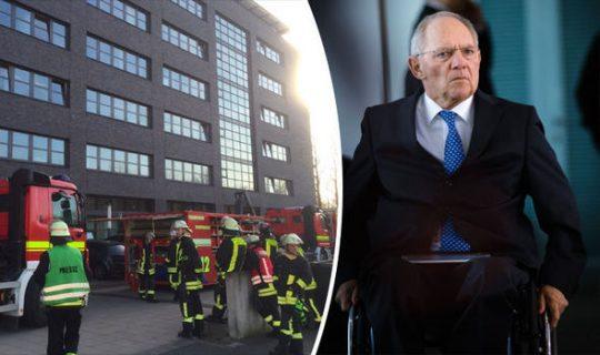 Bombový útok na německé ministerstvo financí: Do kanceláře pravé ruky Merkelové došly výbušniny