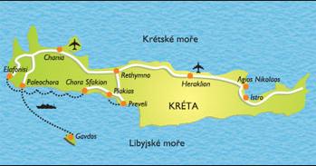 Podzemní tunely na Krétě