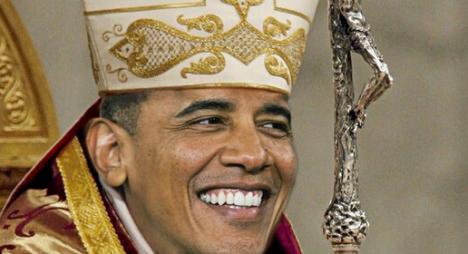 Neustále tvrdím, že posledním černým papežem není nikdo jiný než OBAMA. A zde se Vám to potvrzuje