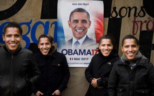 Petice, aby se Barack Obama stal francouzským prezidentem získala již 400 000 podpisů