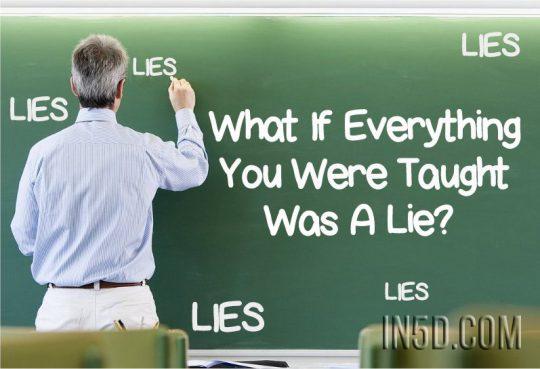 Co když vše, co jste se naučili, je lež