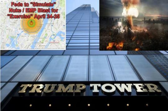 ATOMOVÝ ÚTOK POD FALEŠNOU VLAJKOU? Jaderné cvičení v NEW YORKU? Doporučují, aby všichni opustili město. Právě před pár dny jsme o výbuchu atomové bomby v NY referovali. Zde může všechno začít