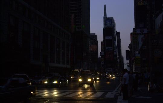 Z jakého důvodu se v českých médiích nepsalo o blackoutu v USA