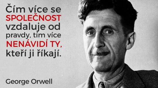 Orwellův román 1984 se stal policejním manuálem?