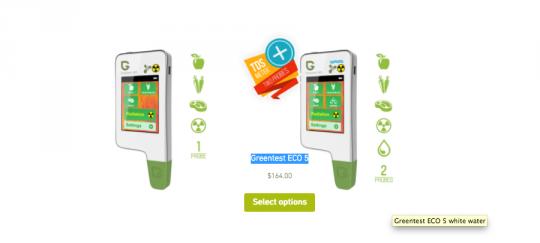 Zde máte přístroj, kterým se můžete ochránit před koupí nebezpečných potravin včetně radioaktivity