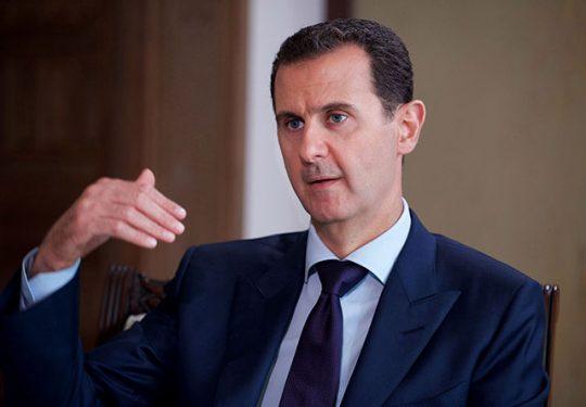 Média stíchli v momente, keď Asad porazil ISIS v Sýrií