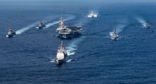 CNN: Lodě a letadla Spojených států zaujaly pozice k útoku proti Sýrii – Sputnik Česká republika