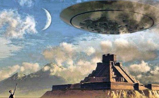 Byly nalezeny konkrétní artefakty, které dokazují, že Mayové byli v kontaktu s mimozemšťany