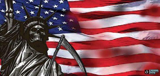 Zhroucení Spojených států amerických – jejich poslední obranný tah