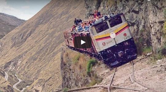 Nejnebezpečnější železnice na světě