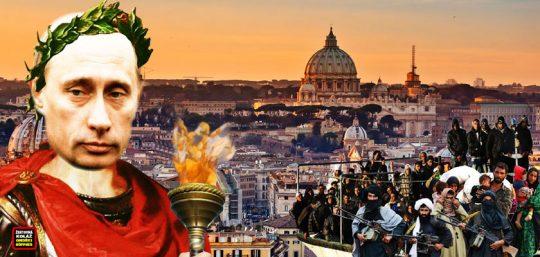 Nečekaná prosba Italů: Zmocni se nás, Putine! Ať už to máme za sebou. Znamená invaze vetřelců do Evropy biblickou apokalypsu? Jaké záměry oligarchů se za vším skrývají? V EU nás čeká trpký konec. Vzepřeme se?