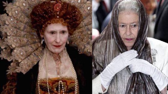 Historický důkaz, že předchůdkyně královny Alžběty byla reptilián