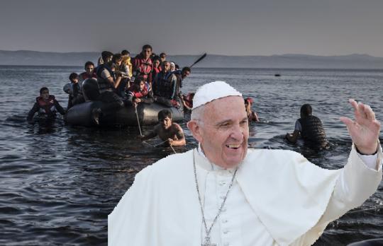 Papež chce migranty: Státy musí upřednostnit zájmy uprchlíků před národní bezpečností