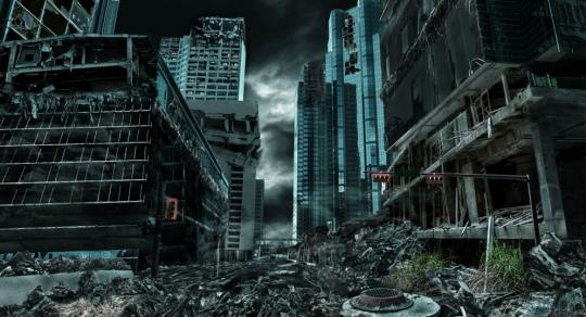 Večerní televizní vysílání bylo přerušeno mimořádnou zprávou o konci světa