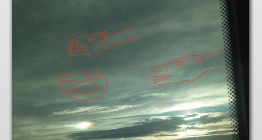 Obrazy, které nám do mraků namalovali konstruktivní duchové Vesmíru