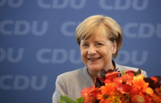 Putin gratuluje Merkelové k výsledku německých voleb