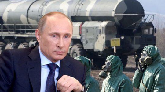 Putin se stal prvním světovým lídrem, který nechal zničit svůj arzenál chemických zbraní