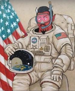 Jsou záběry z ISS virtuální realitou????? Asi ano