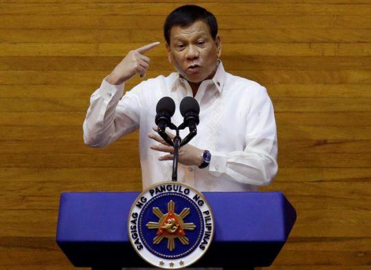 Filipínsky prezident Rodrigo Duterte sa pustil do politikov EÚ