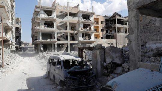 Koalícia vedená USA ničí v Sýrií všetko okrem ISIS