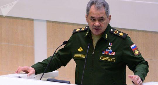 Šojgu oznámil rychlé ukončení operace proti teroristům v Sýrii