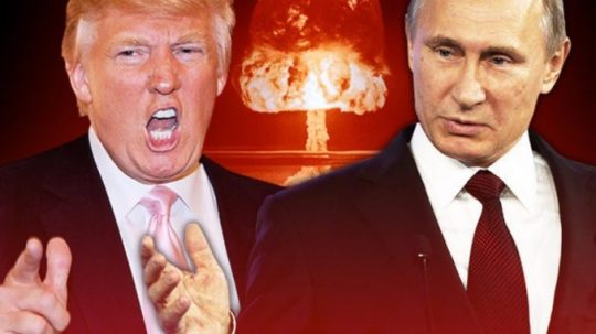 Rusko odkazuje Amerike aby odstránili atómové bomby z celého územia Európy