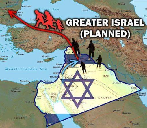Rakka srovnána se zemí jako Drážďany, prostor pro Velký Izrael se vyklízí