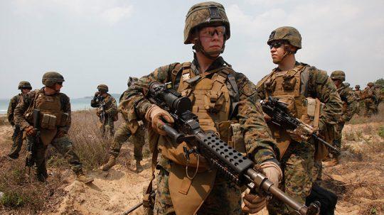 Bylo povoláno 1000 vojáků na americko – mexickou hranici, jelikož konvoj migrantů se blíží