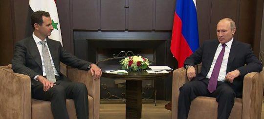 Putin se v Soči setkal s Asadem – mluvčí Kremlu
