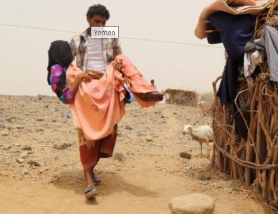 OSN: Saúdská Arábie blokuje dodávky pomoci hladovějícím lidem v Jemenu