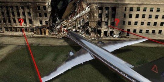 Nikdy nezveřejněné snímky z 11. září 2001: Pentagon po nárazu letadla