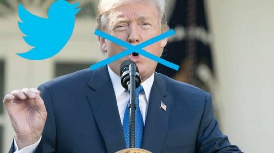 Twitter zablokoval účet Donalda Trumpa