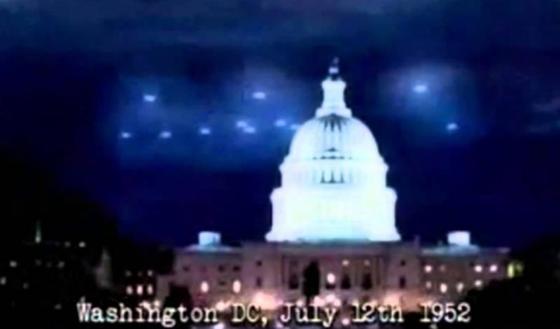 Invaze UFO ve Washingtonu D. C. v roce 1952. Podívejte se na autentické záběry