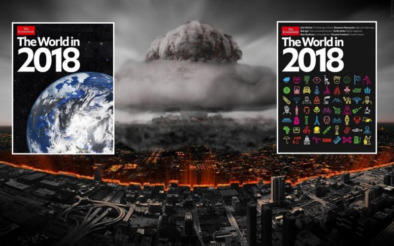 Svět v roce 2018, opět nám časopis THE ECONOMIST ukázal kam svět směřuje, ale tentokráte trochu jinak. Část 1