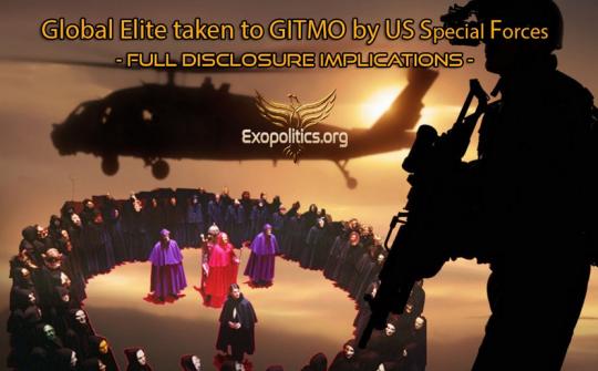 Vysoce postavení členové globální elity umístěni do věznice v zálivu Guantanamo