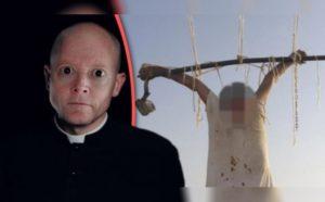 Pedofilní kněz s HIV, který znásilnil 30 dětí, byl nalezen ukřižovaný před kostelem