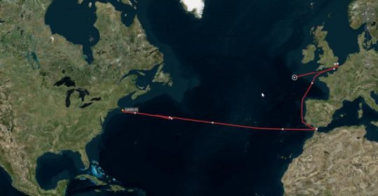 Tanker Gaselys s ruským plynom utajene dorazil do Ameriky