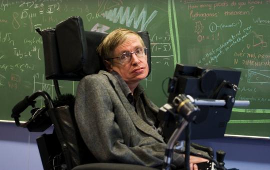Drahoši, jenom lidský odpad předhazuje Stephenu Hawkingovi, že kryplové mají z veřejnosti zmizet