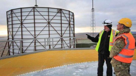 Británie zprovozní nový radar jako opatření proti 'reálné a závažné' hrozbě z Ruska