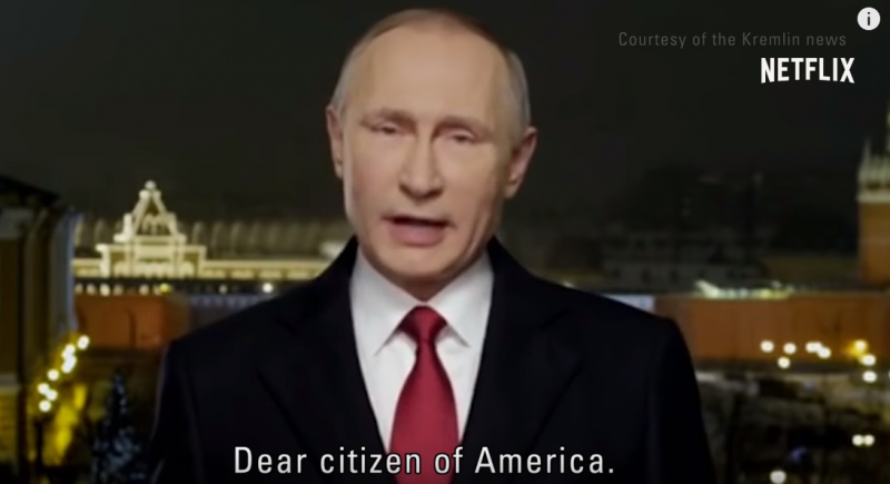 Putin se v traileru Černého zrcadla obrátil k Američanům. Video